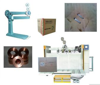 Corrugated cardboard production line manual box strapping machine