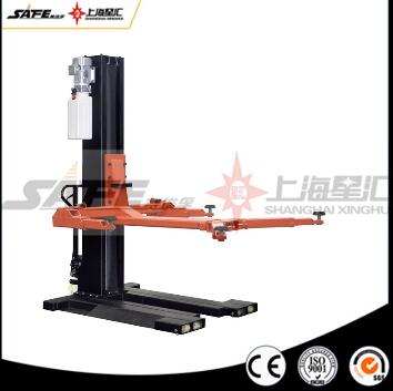 Portable hydraulic single post car lift with CE - Equipmentimes com