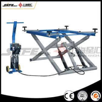 Portable hydraulic outdoor scissor car lift