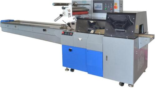 reciprocating pillow frozen samosa packing machine