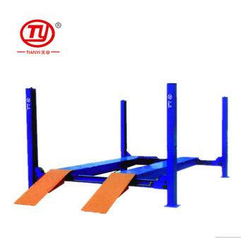 Tianyi used 4 post car lift for sale lift platform lift up storage bed