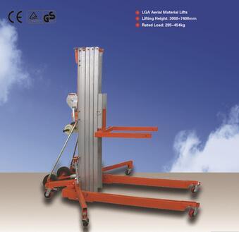 Hand Stacker Material Lifts,Aluminium Alloy LGA Manual Material Lifts