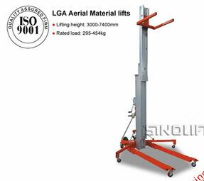 SINOLIFT LGA Aerial Hand Material Lifts with CE Certificate
