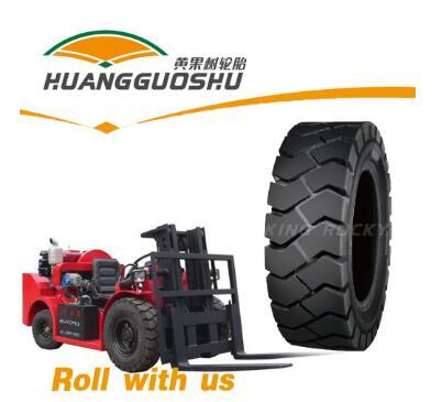 Good elasticity forklift truck tyre