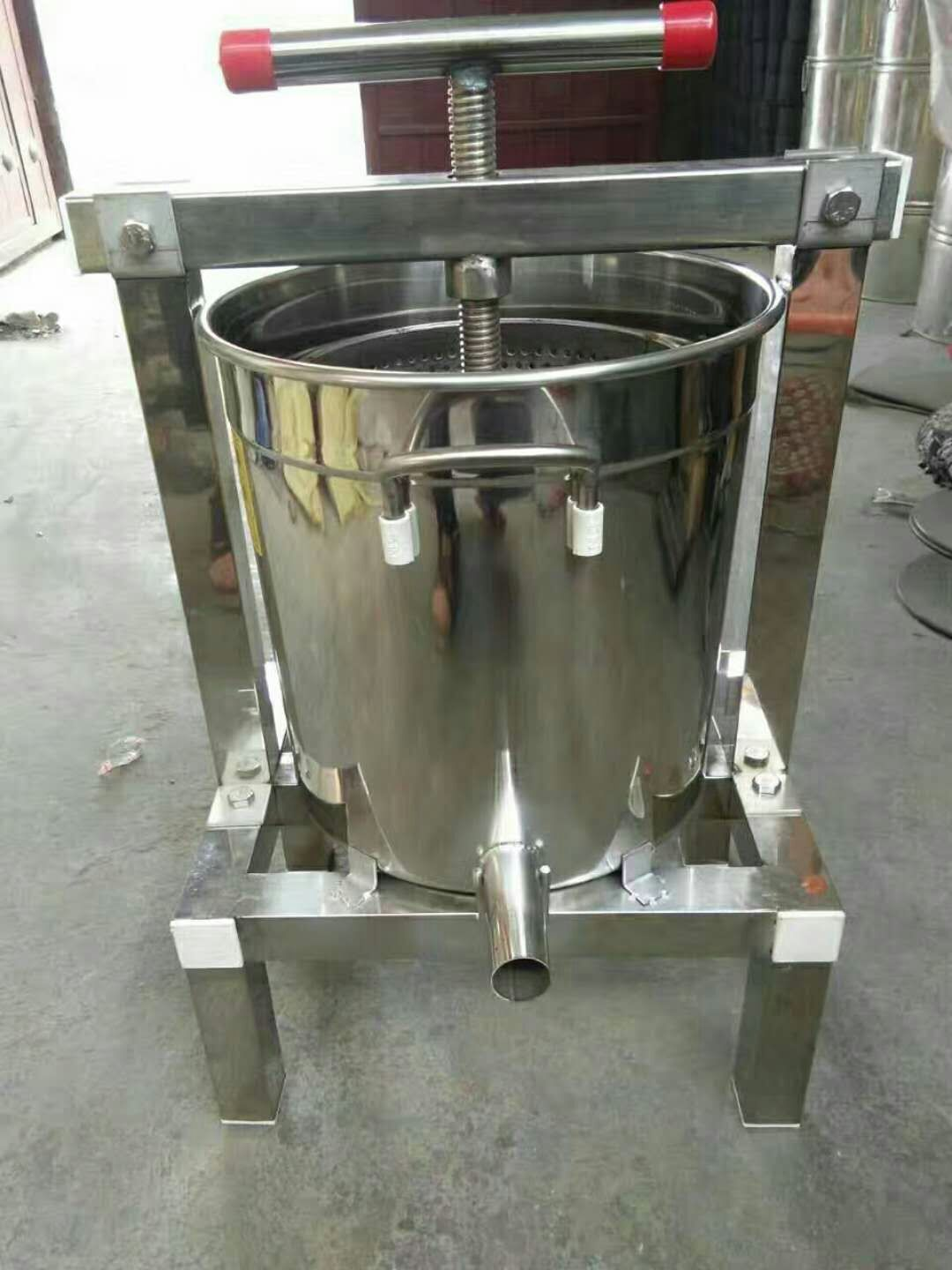 Honey pressing machine/ Honey wax separator