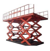 Warehouse use fixed lifting equipment/ stationary scissor hydraulic elevating platform