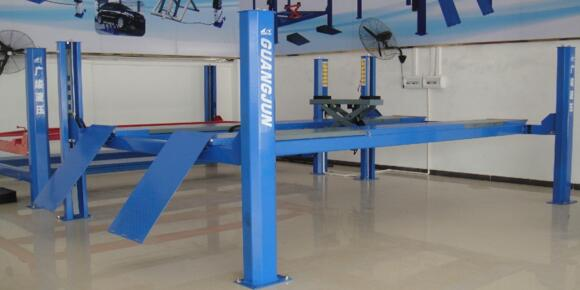 Hot Sale G440D Series four post car lift with CE certification
