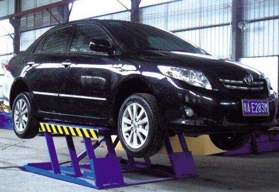 High Quality GUANGJUN- GL2.8 low rise lift with CE Certification