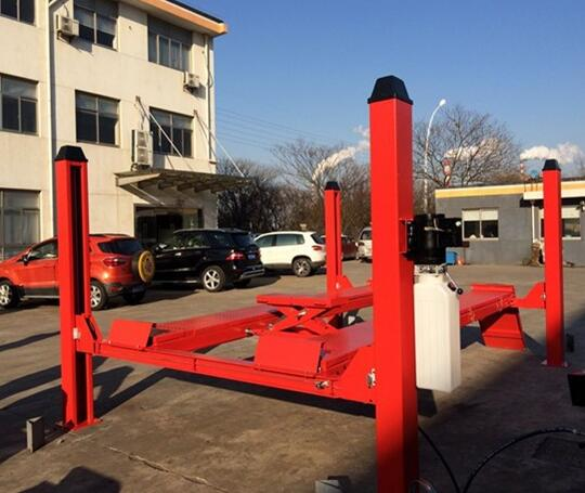 used 4 post car lift for sale launch tlt440w wheel alignment 4 post car lift DS-FS40
