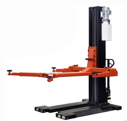 One Cylinder Hydraulic Lift Type and CE Certification single post car lift