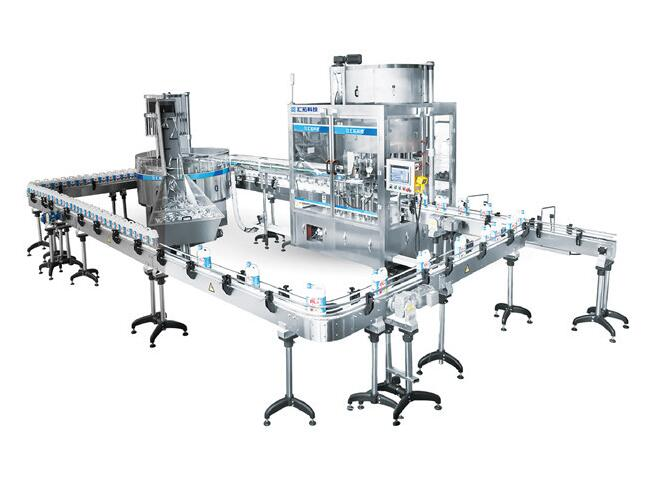 High speed operation one line covers kinds of products Filling Capping machine