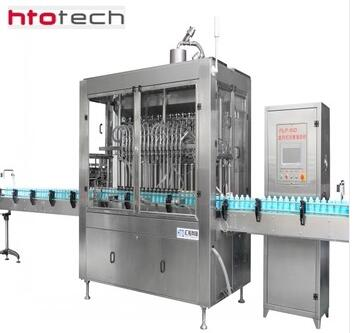 HUITUO 1.5KW Automatic pet bottle filling capping machine