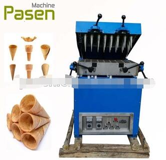 Industrial ice cream cone baking maker / ice cream cup making machine / cone ice cream machine