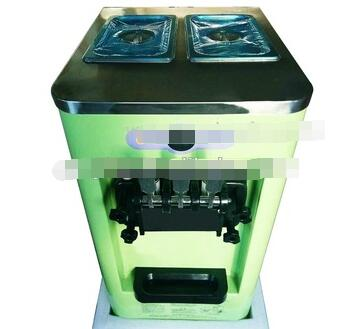 Low Price Small Capacity Mini Table Top Home Commercial 13-18L R22 220v 50Hz 3 Flavor Soft Ice Cream Machine