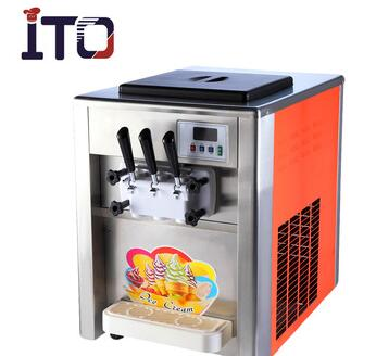 RB-818T Table Counter Top Commercial Soft Ice Cream Machine