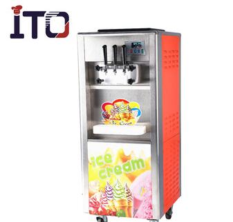 RB-818CH Hot sale Rainbow System Ice Cream machine for commercial