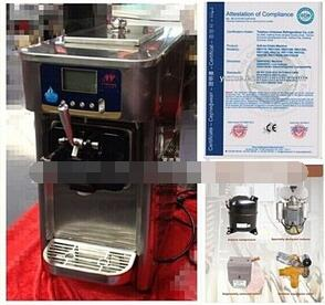 Soft Serve Ice Cream Machine for Rental business RB1116B