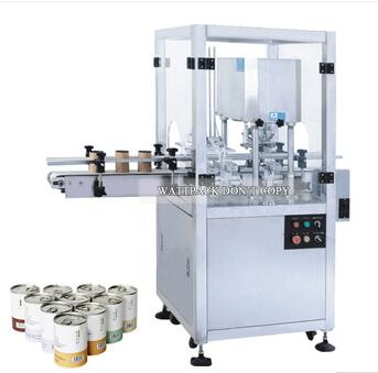 High Speed Fully Automatic Plastic Tin Can Sealing Machine