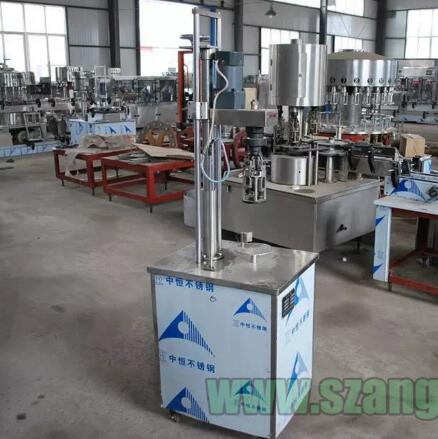 KF-1203 Series ISO9001 Wine bottle manual capping machine
