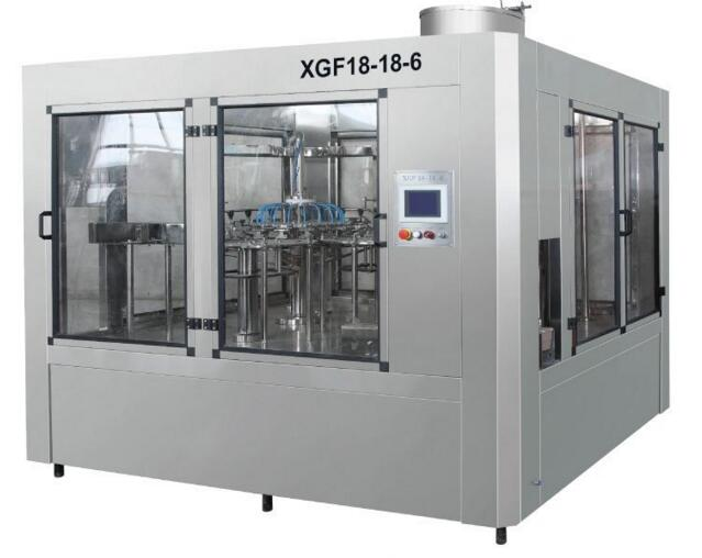 XGF18-18-6 Washing / Filling and Capping Three-in One Unit