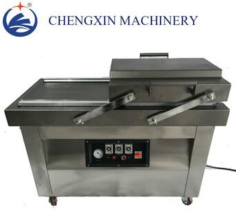DZQ500 Double Chamber Stainless Steel Snack Food/Beef Vacuum Sealer/Sealing/Packing Machine