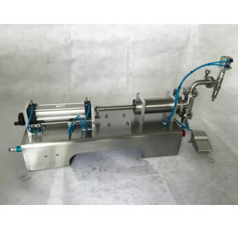 Pneumatic horizontal liquid filling machine ,beverage filling machine,water filling machine