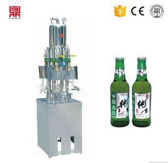 1L liquor drinks bottling machine/ carbonated drink filling machine for wholesale