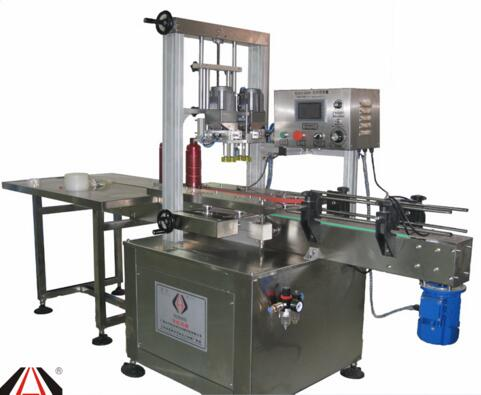 Aerospace YHXGJ Glass Metel plastic cap screwing machine