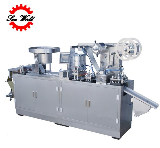 DPP 250E Flat Plate Medicine Alu Alu/aluminum-plastic Blister Packing Machine