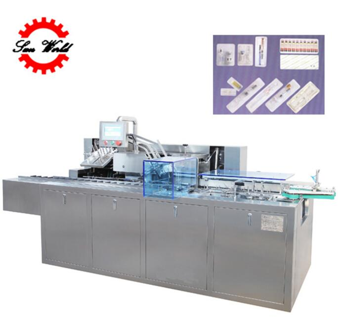 New Design Fully Automatic Cartoning Machine for Ampoule/Injection/Vials