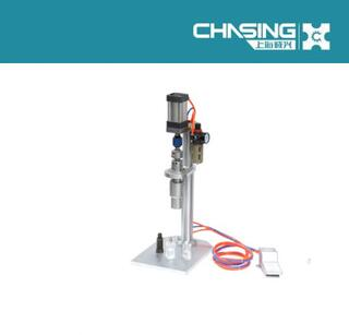 CE Certificate Shanghai Chasing perfume bottle cap closing machine