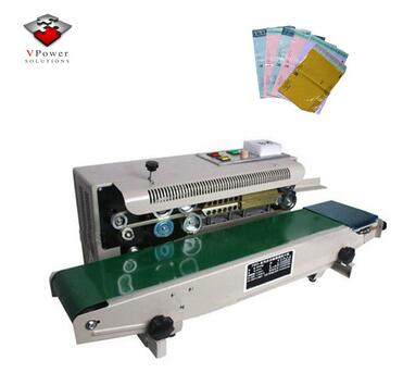Heat Plastic Bag Sealer Sealing Machine Vertical Shrink Ng Automatic Continous Film