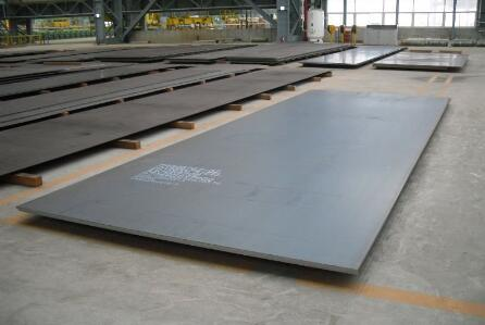 Structural mild steel plate for road building