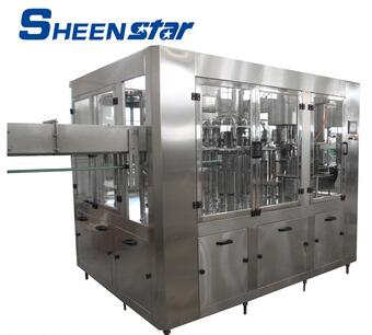 CE SGS Certification sheenstar brand automatic juice filling machine