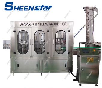 CGF40-40-12 Series 330ml pet bottle water filling machine