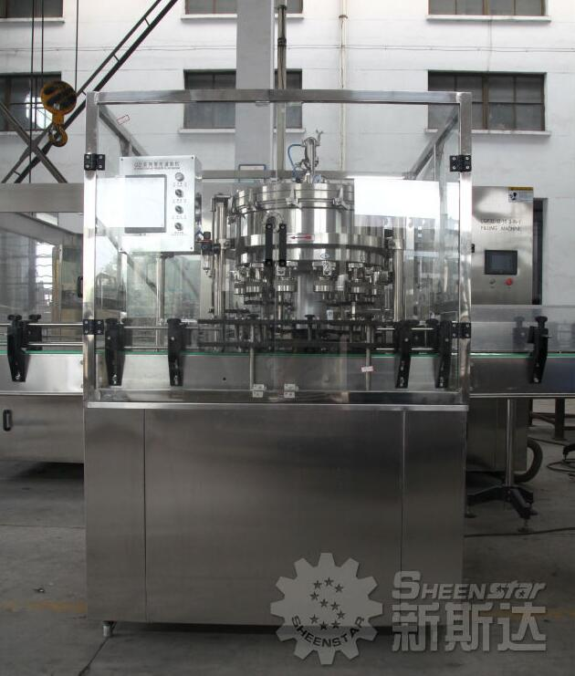 SHEENSTAR Automatic aluminium filler & capping machine