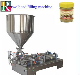 Semi automatic piston paste filler cosmetic cream liquid filling machine