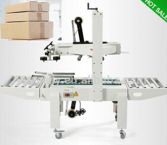 Professional automatic top and bottom adhesive tapes carton sealer