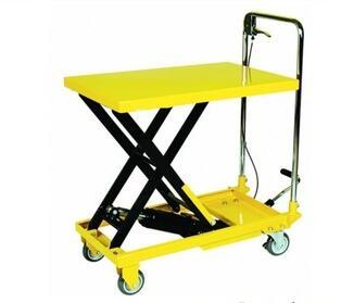SM-C750 Series 750kgs mobile hydraulic scissor lift table truck