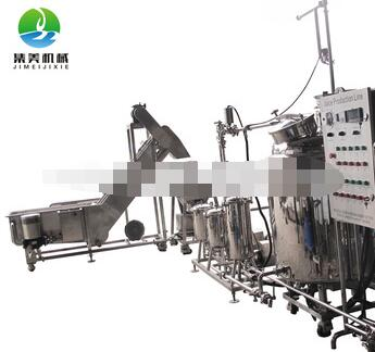 2016 Manufacturer of wholesale small natural fruit juice production line