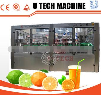 China first-class quality orange/apple/mango juice automatic filling machine price