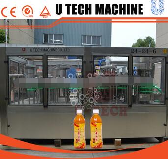 Automatic 3 in 1 Bottling Juice Hot Filling Machine/Juice Production Line