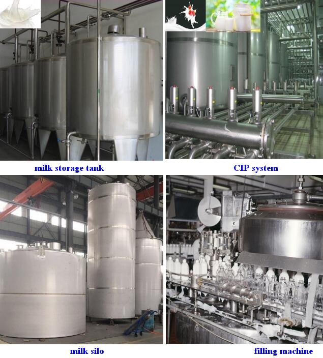 Small Scale High Quality Milk Processing Machine/Milk Production Line