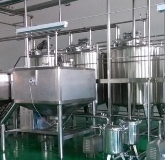 Small Scale Strawberry/Blueberry Flavored Milk Production Line