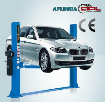 garage tools and equipment APL-8240HP hydraulic 2 post car lift