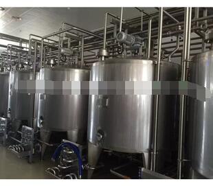 Complete soya milk production line/soya bean milk processing plant