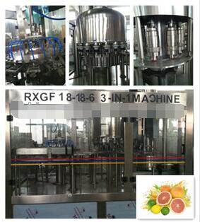 automatic 3 in 1 fruit juce hot filling machine from China