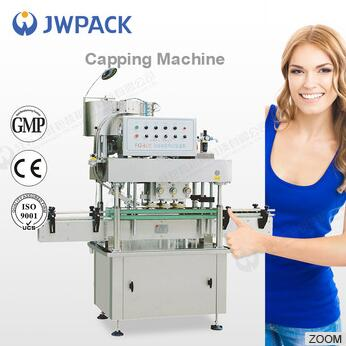 JWPACK FXZ-6J PET Bottle Automatic In-Line Capping Machine