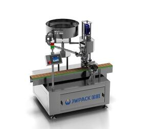JWPACK New Product FX-1C Automatic Single Head Bottle Capping Machine
