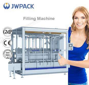 JWPACK New Product CZ-6C oil filling machine price weighing filling machine automatic high viscosity drum filling machine